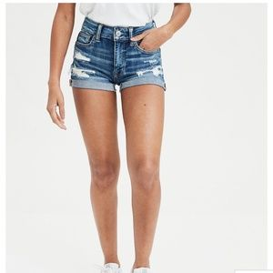 AE Hi-Rise Denim Shorts